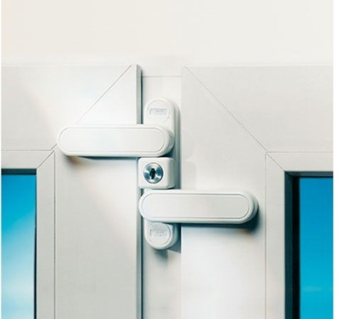 Fenstersicherung BURG-WÄCHTER WinSafe WD 3 gleichschließend