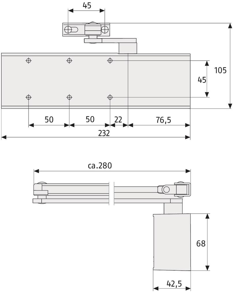 ABUS_8603_technische_Zeichnung