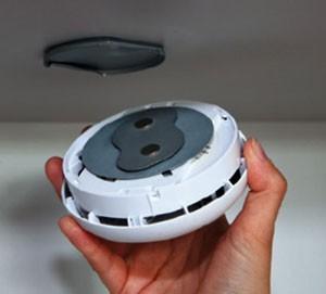ABUS Magnet-Pads für Rauchmelder und Mini-Rauchmelder
