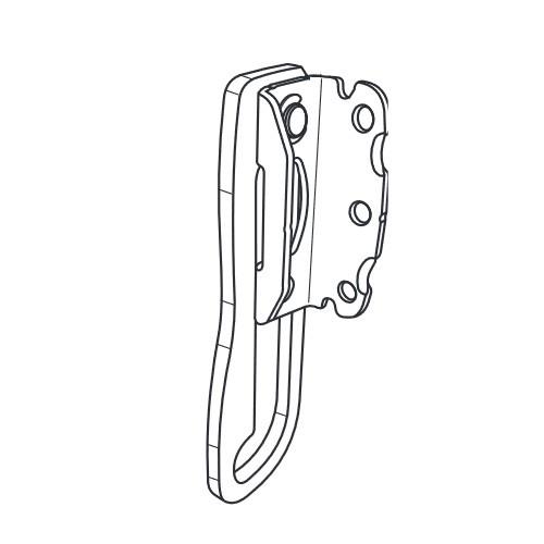 Sperrbügel 164 mm für Tür-Zusatzschloss 7030, 7035, 7530 und 7535