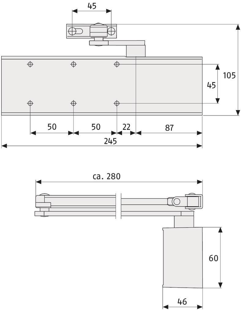 ABUS_9603_technische_Zeichnung